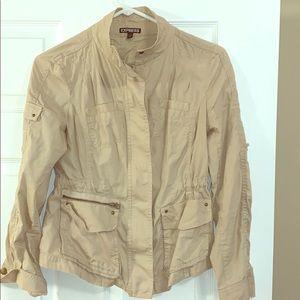 Express Khaki utility Jacket